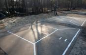 Ассоциация дворовых видов спорта завершает восстановление городошного стадиона в Липецке