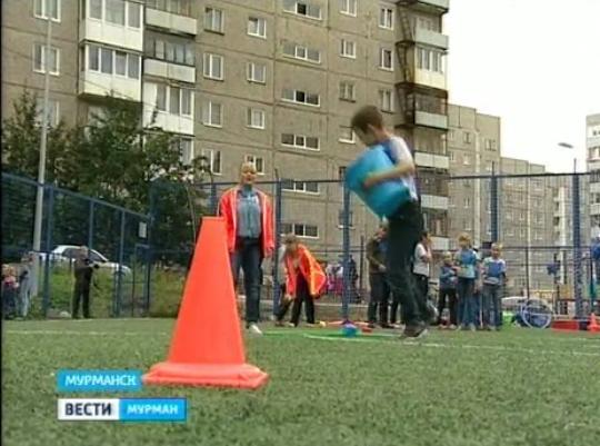 В Мурманске отметили всероссийский День дворового спорта