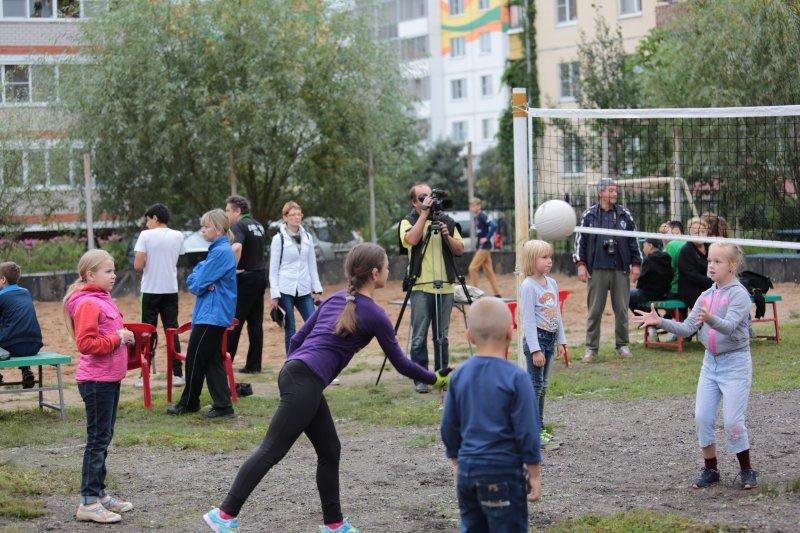 Новгородская область присоединилась к Всероссийскому Дню дворового спорта