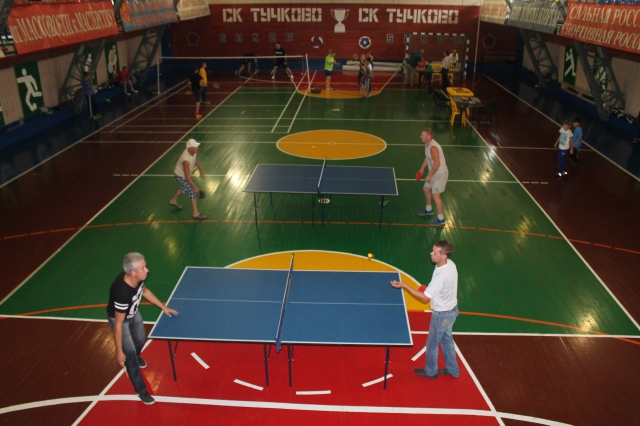 Во дворах Рузского района сыграли в футбол, баскетбол и волейбол