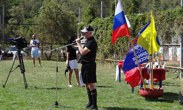 День дворового спорта в Калмыкии (мини-футбол)