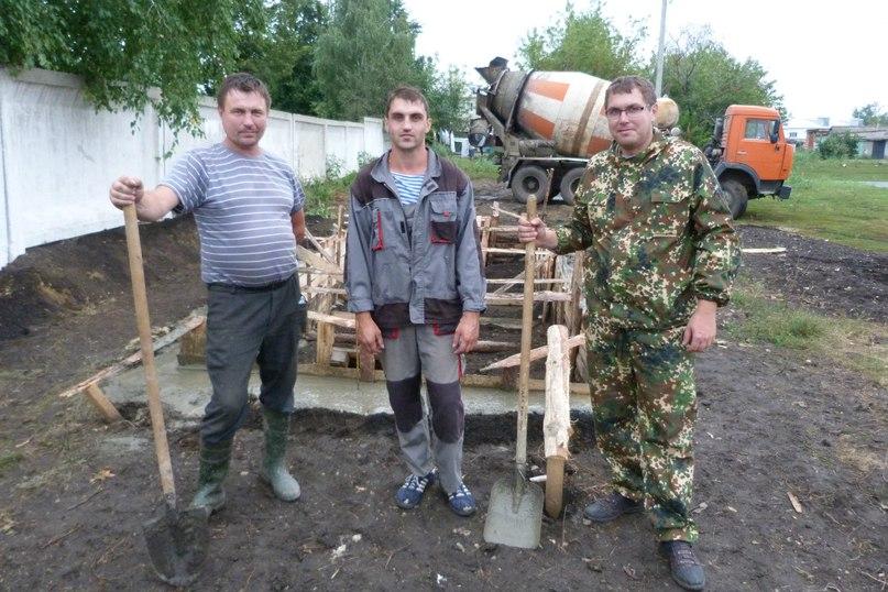 В Долгоруково продолжается строительство профессионального городошного корта