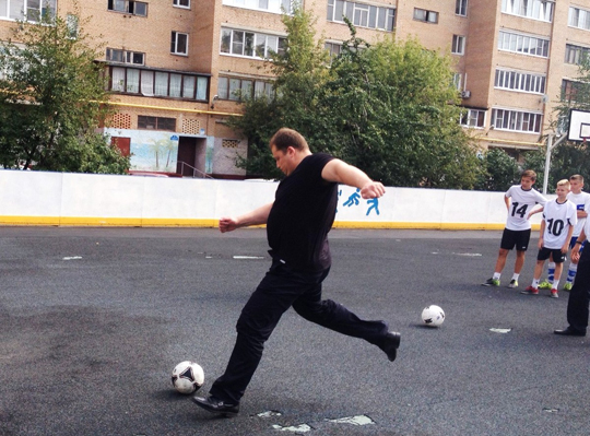 День дворового спорта отметили спортивными мероприятиями в муниципалитетах Подмосковья