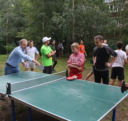 Всероссийский день дворового спорта прошёл в Люберецком районе