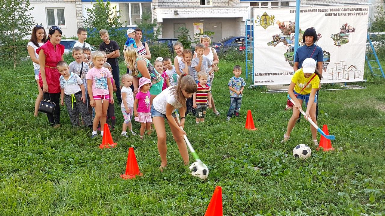 Ассоциация ТОС Рязанской области развивает дворовый спорт: навстречу Дню дворового спорта