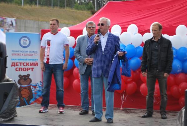 В Фестивале дворового спорта Ленинградской области приняло участие около 500 человек