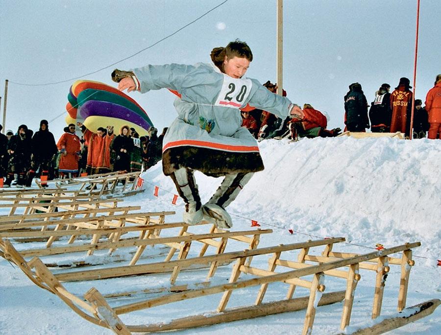 В Ненецком округе впервые отметили Всероссийский день дворового спорта
