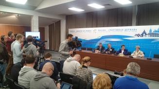 В Доброграде состоялась итоговая пресс-конференция с участием Виталия Мутко