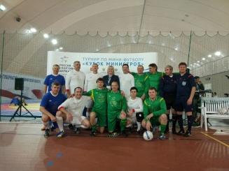 Министры спорта сыграли в футбол