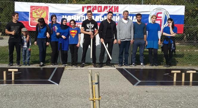 В Грозном впервые прошел «Кубок города Грозного по городошному спорту»