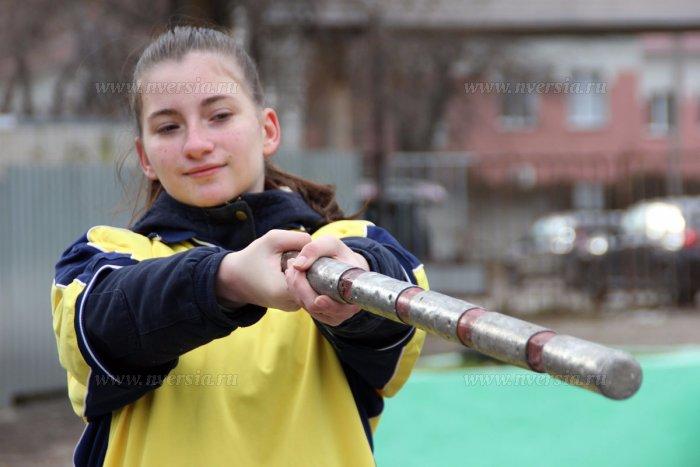 В Саратове впервые состоялись соревнования по городкам среди школьников