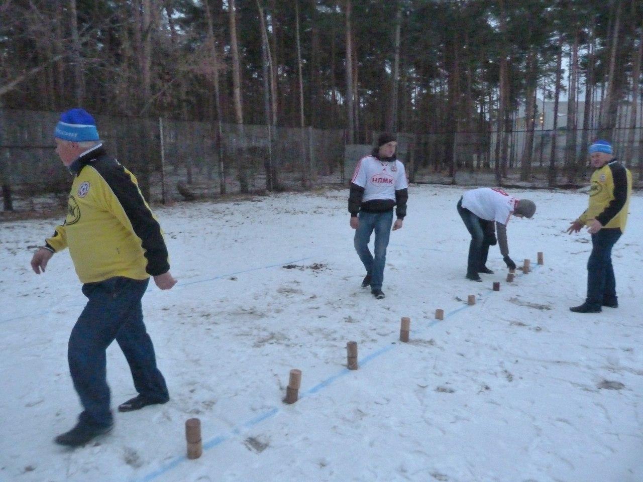Первый официальный городошный турнир в Липецкой области в 2017 году состоится уже 14 января