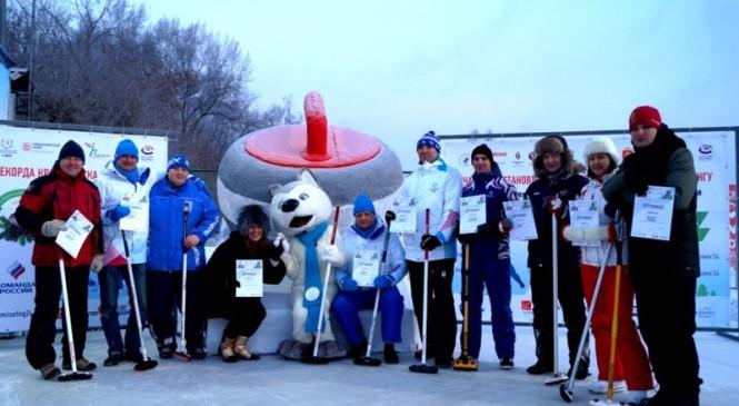 В Красноярске проходит Сибирский фестиваль керлинга