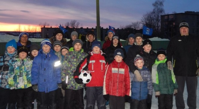 Всероссийский зимний день дворового спорта в Рязанской области