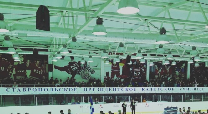 Ставропольские кадеты начали хоккейный турнир с победы