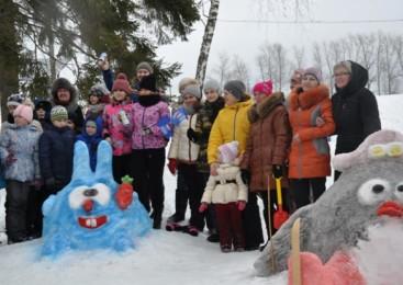 В тульской области прошел Зимний День дворового спорта