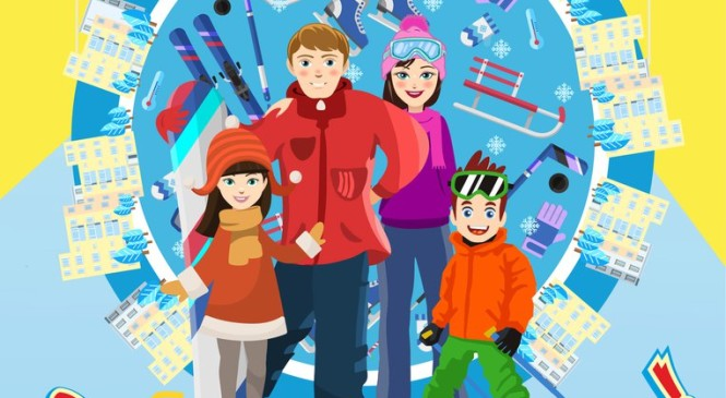 Спортивный рекорд России будет установлен в Красноярске в Зимний день дворового спорта