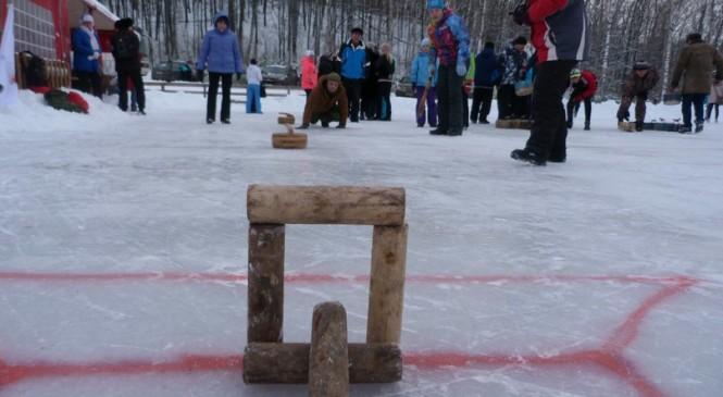 Городошный керлинг осваивает просторы Красноярского края