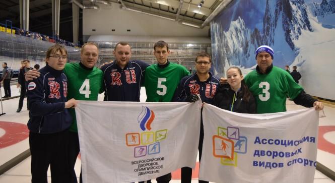 Друзья-соперники липецких «дворовиков» вышли в финал Кубка Федерации по керлингу