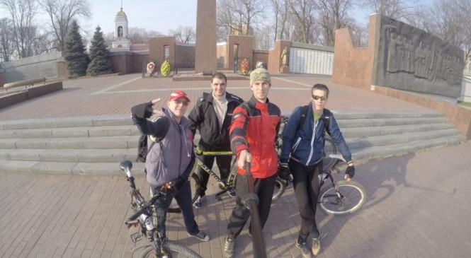 Энтузиасты велотуризма в Липецке продолжают осваивать маршруты