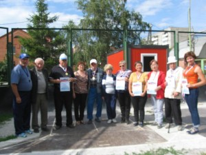 МБУ «Спортивный город» г. Новосибирска 13 июля проведены соревнования по городошному спорту.
