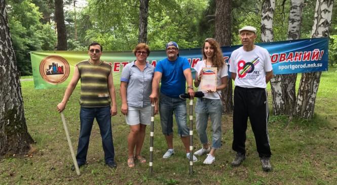 В Новосибирске проведен турнир по Городошному спорту организованный МБУ «Спортивный город»