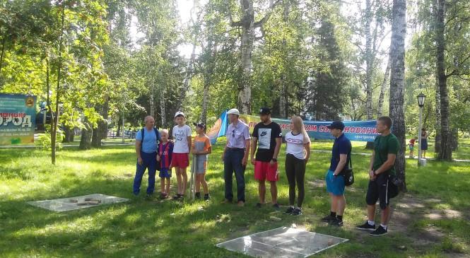 В целях популяризации городошного спорта МБУ «Спортивный город» провел очередной турнир в Новосибирске