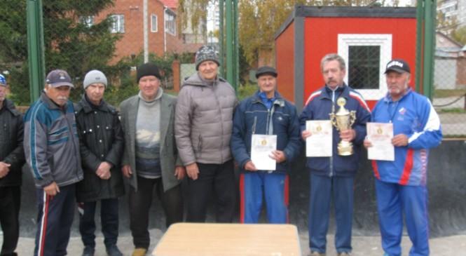 Кубок мастеров спорта СССР по городошному спорту в Новосибирске