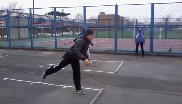 Первый Открытый Зимний Чемпионат МБУ «Спортивный город»  по городошному среди жителей города Новосибирска в группе А