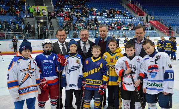Депутаты Мособлдумы приняли участие в открытии хоккейного турнира в Балашихе