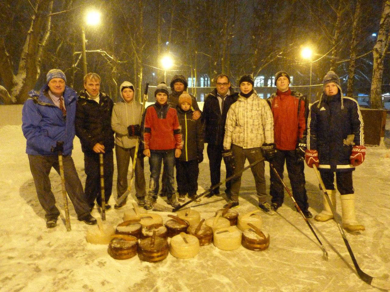 В Подольске стартовали соревнования дворовых лиг керлинга и хоккея с шайбой
