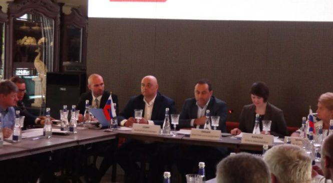 В Москве прошла отчётно-выборная конференция федерации кёрлинга России