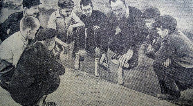 У городошных квадратов. Воспоминания Михаила Сорокина, 1953 год