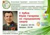 Кубок Гагарина по городошному спорту — в пятый раз, но на новом месте